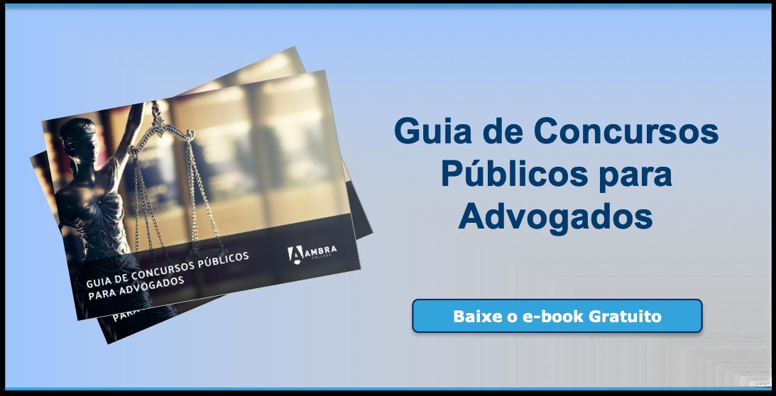 Guia de concursos públicos para advogados